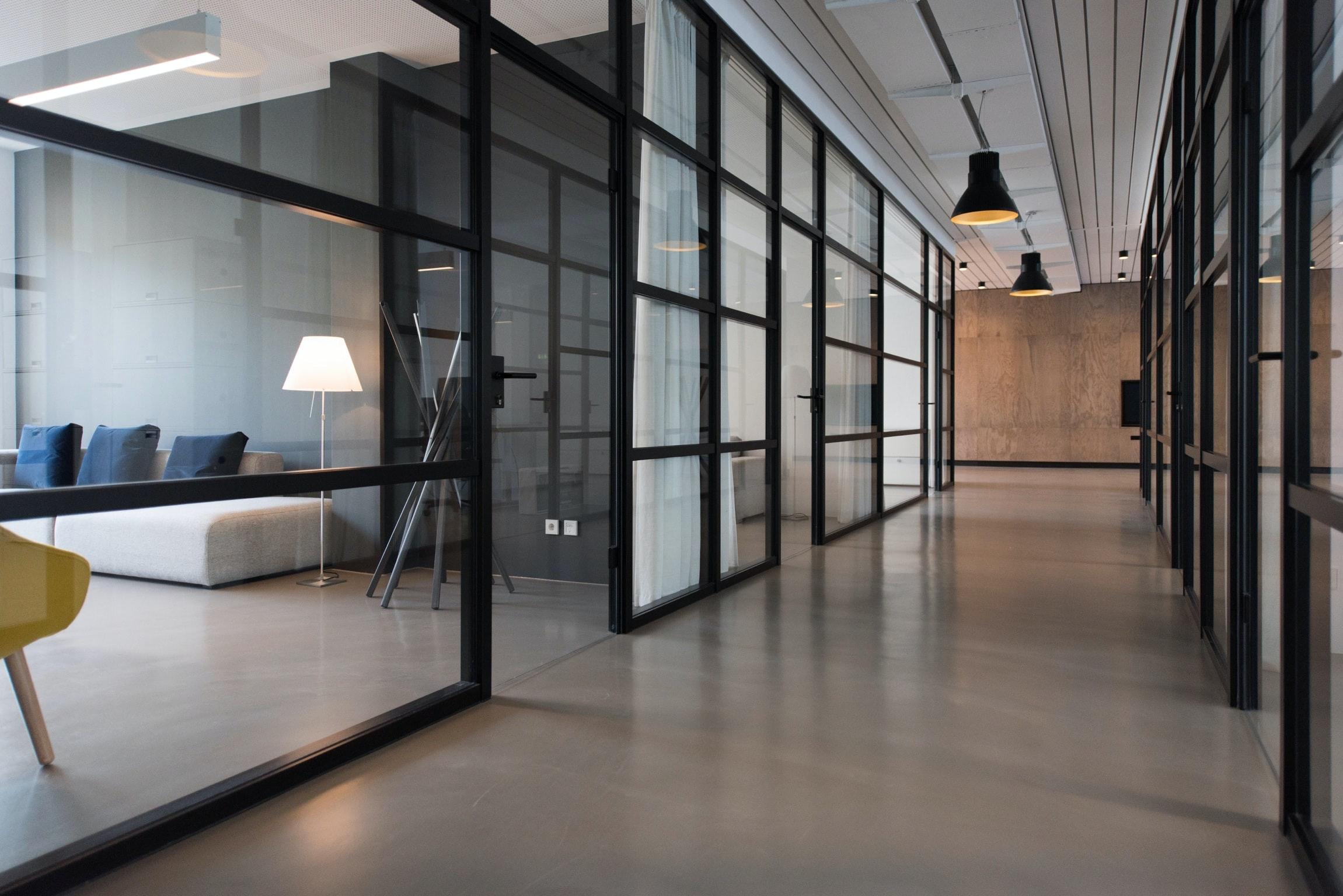 bureau office workspace
